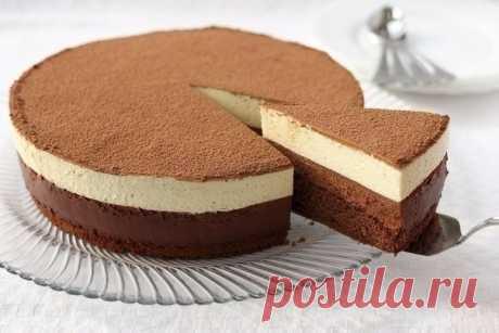 Как приготовить торт «шоколадный дуэт» - рецепт, ингредиенты и фотографии
