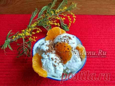 Домашнее мороженое, вкус советского пломбира: пошаговый рецепт