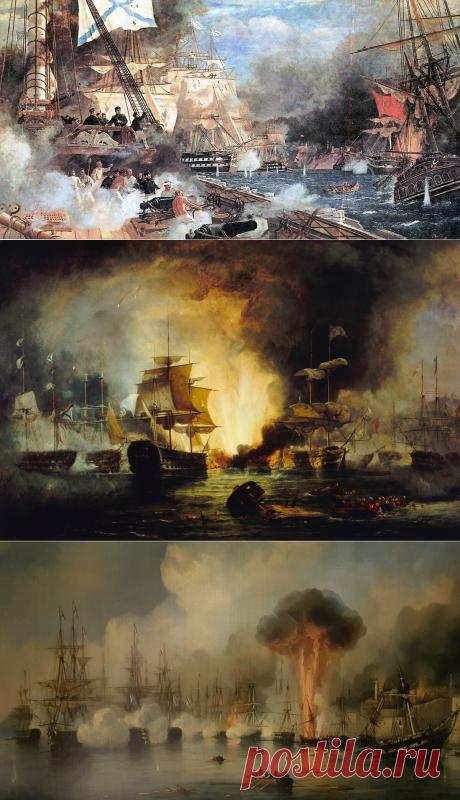 Битва в Наваринской бухте | Империя | Яндекс Дзен