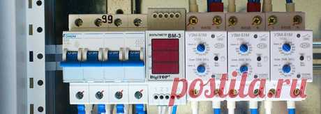 Методы защиты бытовых электрических сетей от перепадов напряжения, разновидности защитных устройств и способы их установки. | FORUMHOUSE | Яндекс Дзен