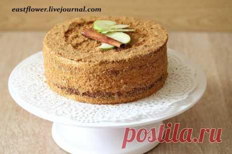 Яблочный торт с баварским муссом - Елена — LiveJournal