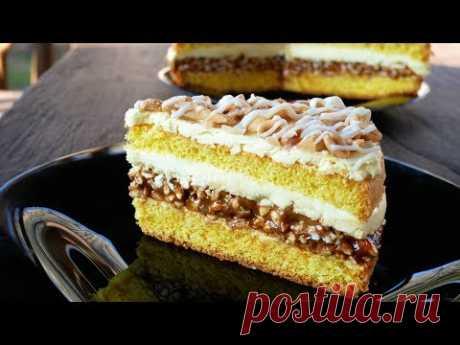 """Невероятно Вкусный Торт Со Вкусом Батончика """"Lion White"""""""