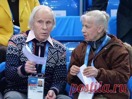 Люжмила Белоусова и Олег Протопопов