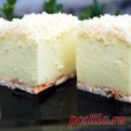 """Торт без выпечки """"Снежный пух"""" Кулинарный рецепт"""