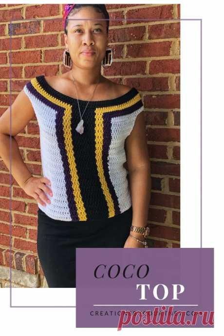 Coco Top: Premium Crochet Pattern -