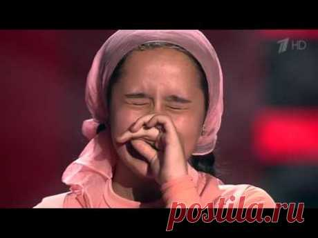 THE GIRL FROM CHECHNYA ON SHOW THE VOICE CHILDREN! THE MOST BEAUTIFUL VOICE