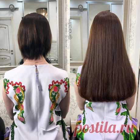 Наращивание волос на короткие волосы в студии Ольги Полоник - что нужно знать?