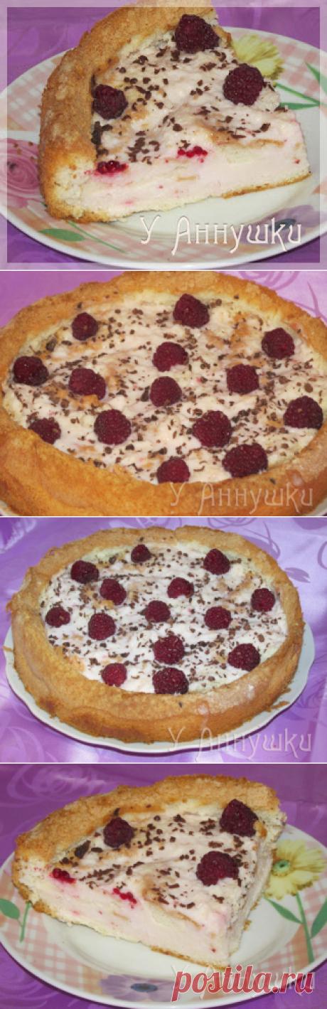 У Аннушки: Легкий тортик с желе из кефира (йогурта).