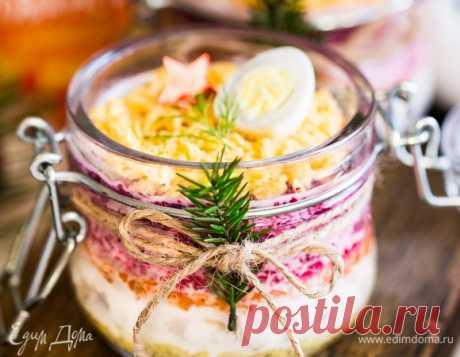Новогодние салаты: 15 лучших рецептов от «Едим Дома». Кулинарные статьи и лайфхаки