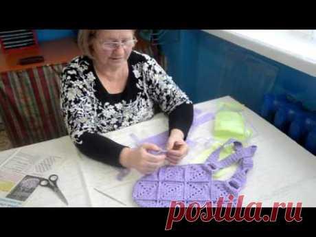 Как сделать стильную сумку из ненужных пакетов?