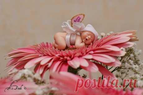 Лепка кукол из полимерной глины   Уроки лепки