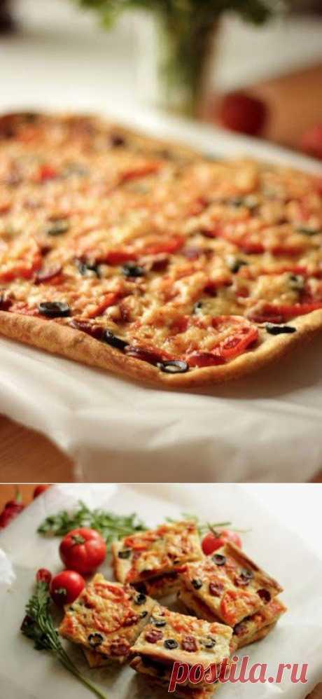 Пицца из дрожжевого теста | Готовим вместе