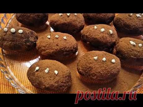 """Пирожное """"Картошка"""" из ванильных сухарей. Очень вкусное и быстрое в приготовлении пирожное .Готовится из простых и доступных продуктов."""