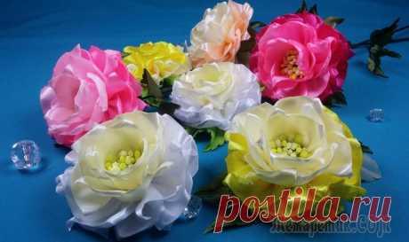 Простые цветы из лент. МК Добрый день, друзья!!! С большим удовольствием представляю Вам не сложный мастер-класс простого, но привлекательного цветка из атласных лент. Его можно использовать и как украшение, и как интерьерный ...