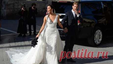 Серхио Рамос собрал на свадьбе звездных гостей: Дэвид и Виктория Бекхэм на стиле