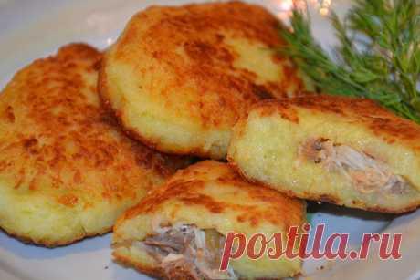 Картофельные зразы с мясным фаршем — Кулинария для всех