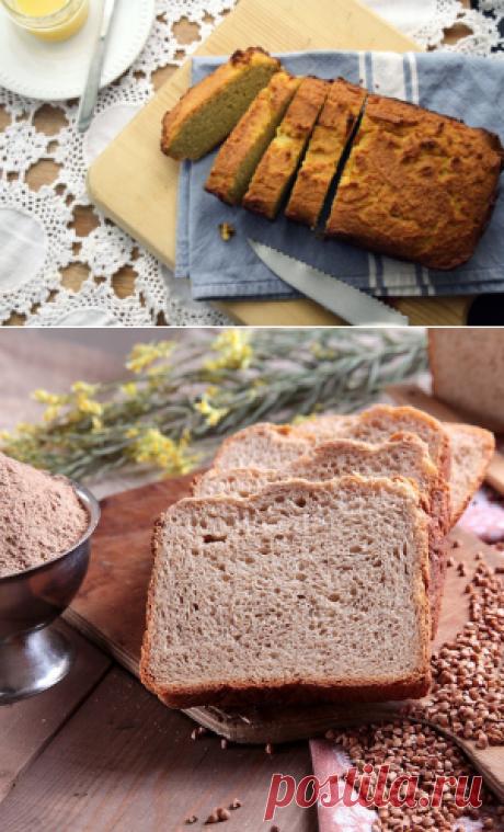 Хлеб без глютена: рецепты для духовки и хлебопечки, кукурузный, без дрожжей, гречневый, рисовый, белый и ржаной черный