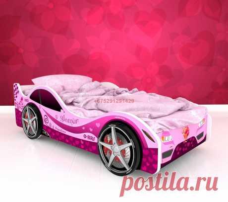 Кровать-машинка Париж: купить в Минске недорого, низкие цены, скидки, рассрочка