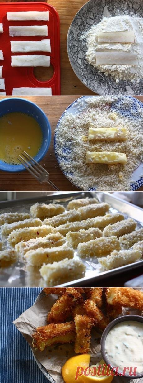 Как приготовить домашние рыбные палочки - рецепт, ингридиенты и фотографии