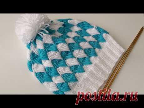 2+3+4+5 Yaş çocuk şapka /knitting children hat/sombrero de punto para niños/बुनाई बच्चों टोपी