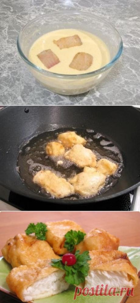 Как приготовить рыба, жаренная в кляре - рецепт, ингридиенты и фотографии