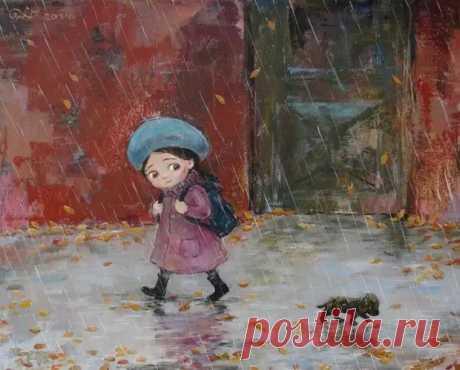 20картин художницы Нино Чакветадзе, откоторых становится тепло иуютно надуше - Искусство - медиаплатформа МирТесен