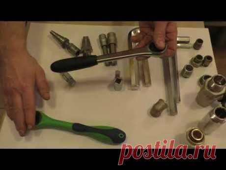 Ступенчатый ключ сантехника,для разъёмных соединений (американок)