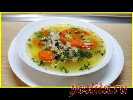 Вкусный и Сытный Куриный Суп с Булгуром