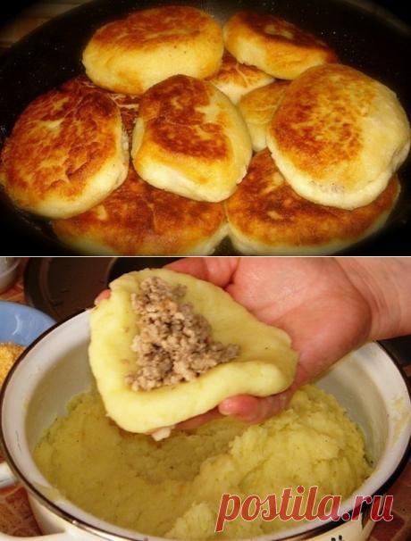 Как приготовить случайно увидела,попробовала приготовить,пальчики оближешь) картофельные зразы - рецепт, ингредиенты и фотографии