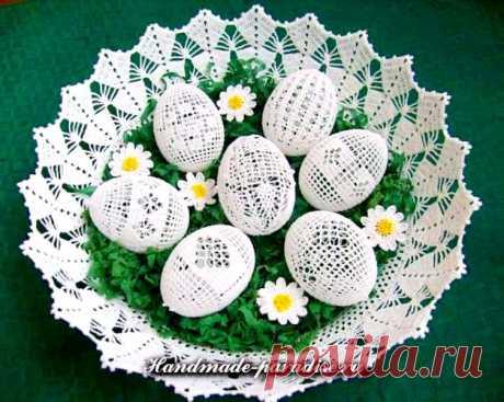 Как обвязать крючком пасхальные яйца - идеи и схемы вязания » Женский Мир