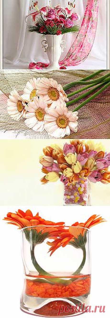 фото цветы в вазе: