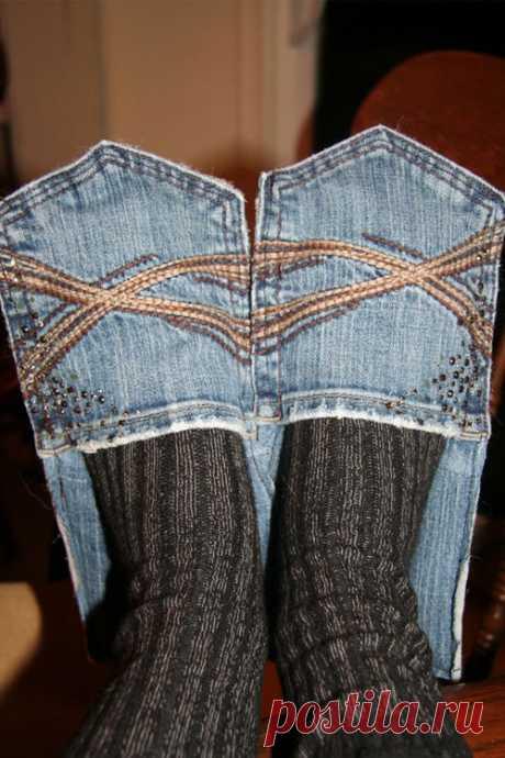 Полезные мелочи из джинсов (идеи и мастер-классы) | Рукоделие