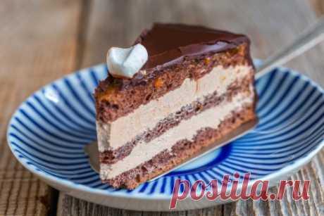 Способ приготовления шоколадного торта со сгущенкой »