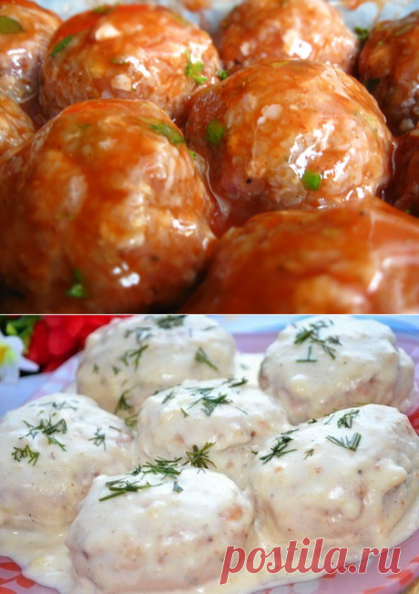 Meatballs - the best recipes. How correctly and tasty to make meatballs.