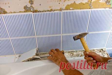 5 ошибок ремонта ванной, которые совершают все