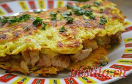 Вкуснейшая курочка в ажуре Представляем вашему вниманию рецепт очень вкусного блюда для разнообразия вашего меню. Это аппетитное блюдо мыбудем готовить из простых и доступных ингредиентов. В результате получимвкусное и сытное блюдо, которое понравится абсолютно всем. Курицу с сыром покрываемрумяной корочкой из картофеля. Это не просто мега вкусно, это шедеврально.Блюдо отлично подойдет в качестве обеда или ужина. Рекомендую всем попробовать. […] Читай дальше на сайте. Жми подробнее ➡