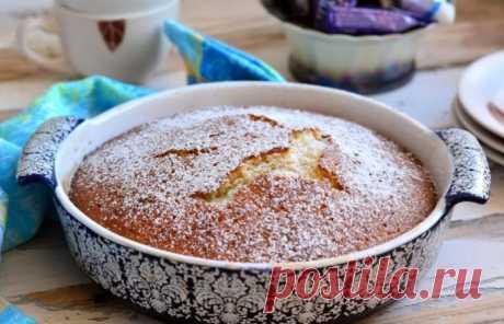 Быстрый пирог на скорую руку -нежный и очень вкусный!