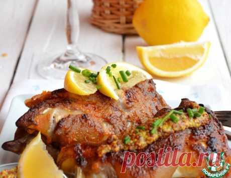 Ножки свиные запеченные – кулинарный рецепт