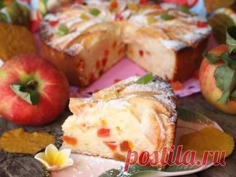 Творожно - яблочный пирог Краски осени - Подружки - медиаплатформа МирТесен