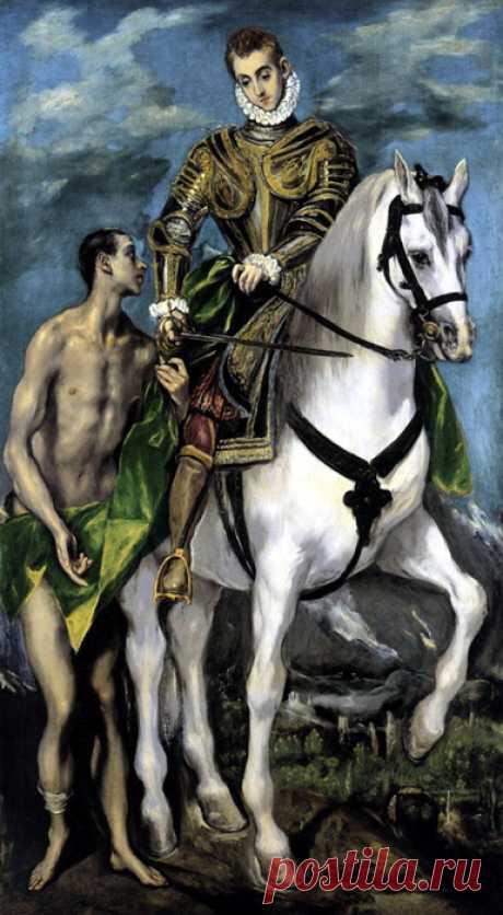 Доменико Теотоко́пули ( Эль Греко ) - Загадочный и великий Мастер эпохи Возрождения