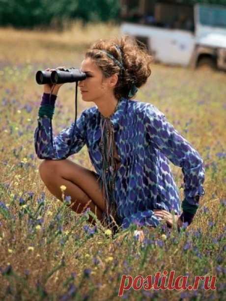 Блуза - выкройка № 110 A из журнала 4/2010 Burda – выкройки блузок на Burdastyle.ru