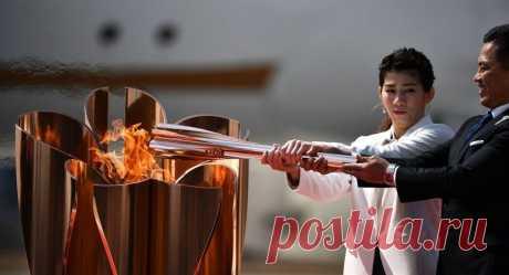 Олимпийский огонь выставят напоказ в музее в Токио | Спорт