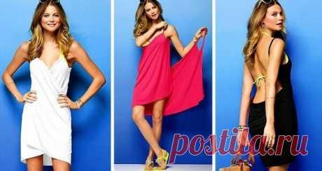 💃 5 способов сшить платье без выкройки своими руками   33 Поделки   Яндекс Дзен