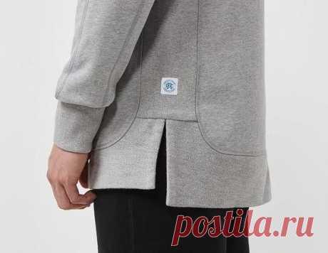 Идеи оформления низа свитшота Модная одежда и дизайн интерьера своими руками