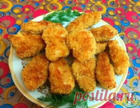 Куриное филе в хрустящей панировке – кулинарный рецепт