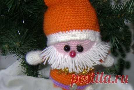 Вяжем Санта-Клауса крючком | CityWomanCafe.com