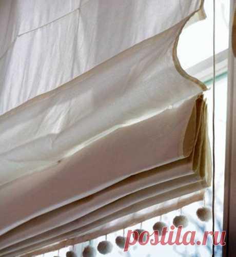 Римские шторы своими руками - Артмастерская