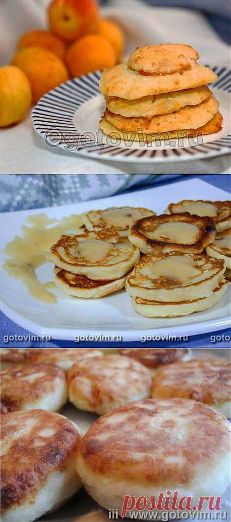 Три рецепта сырников