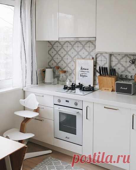 Оформляем кухню 4 кв. м: главные приципы дизайна