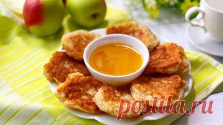 Яблочные драники - дети попросили готовить их всегда вместо оладий | Марусина Кухня | Яндекс Дзен